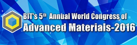 5th Annual World Congress of Advanced Materials - 2016